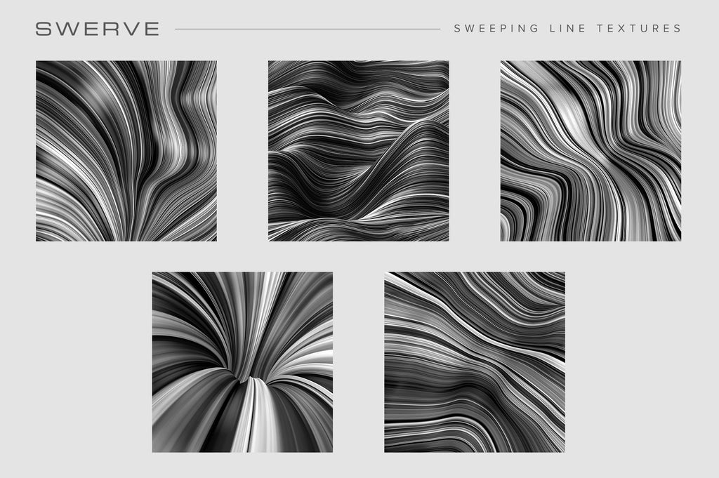 Fluid Lines Texture Bundle-Chroma Supply