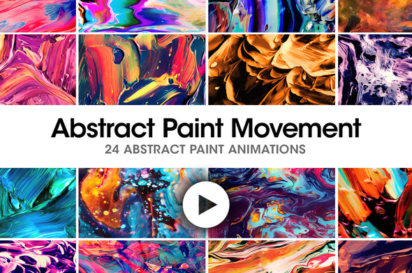 Abstract Paint Movement-Chroma Supply