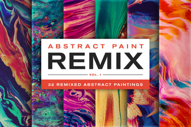Abstract Paint Remix, Vol. 1-Chroma Supply