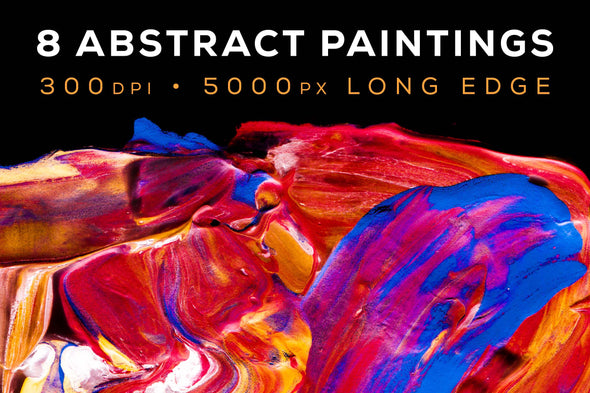Abstract Paint, Vol. 6