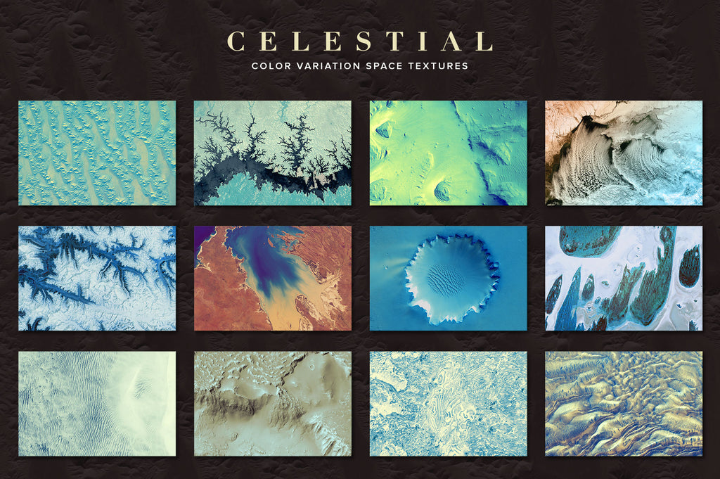 Celestial: 75 Space Textures-Chroma Supply