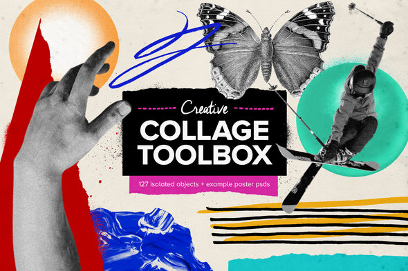 Creative Collage Toolbox-Chroma Supply