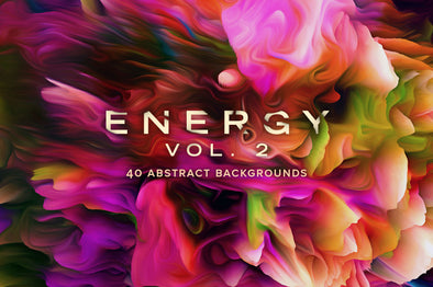 Energy, Vol. 2: 40 Abstract Backgrounds-Chroma Supply