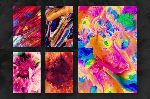 Energy: 40 Abstract Backgrounds-Chroma Supply