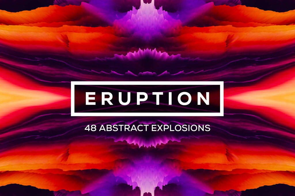 Eruption, Vol. 1: Bursting 3D Textures-Chroma Supply