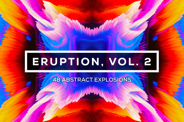 Eruption, Vol. 2: Bursting 3D Textures-Chroma Supply