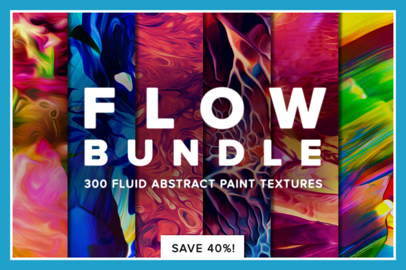 Flow Bundle: 300 Smooth Paint Textures-Chroma Supply
