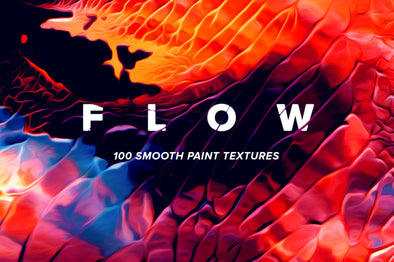 Flow, Vol. 1: 100 Smooth Paint Textures-Chroma Supply