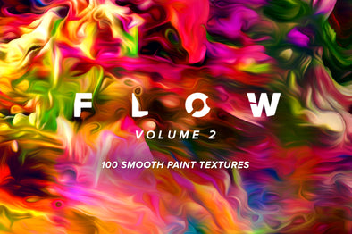Flow, Vol. 2: 100 Smooth Paint Textures-Chroma Supply