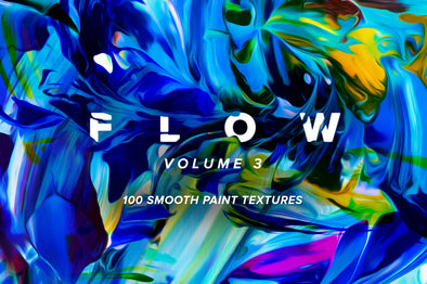 Flow, Vol. 3: 100 Smooth Paint Textures-Chroma Supply