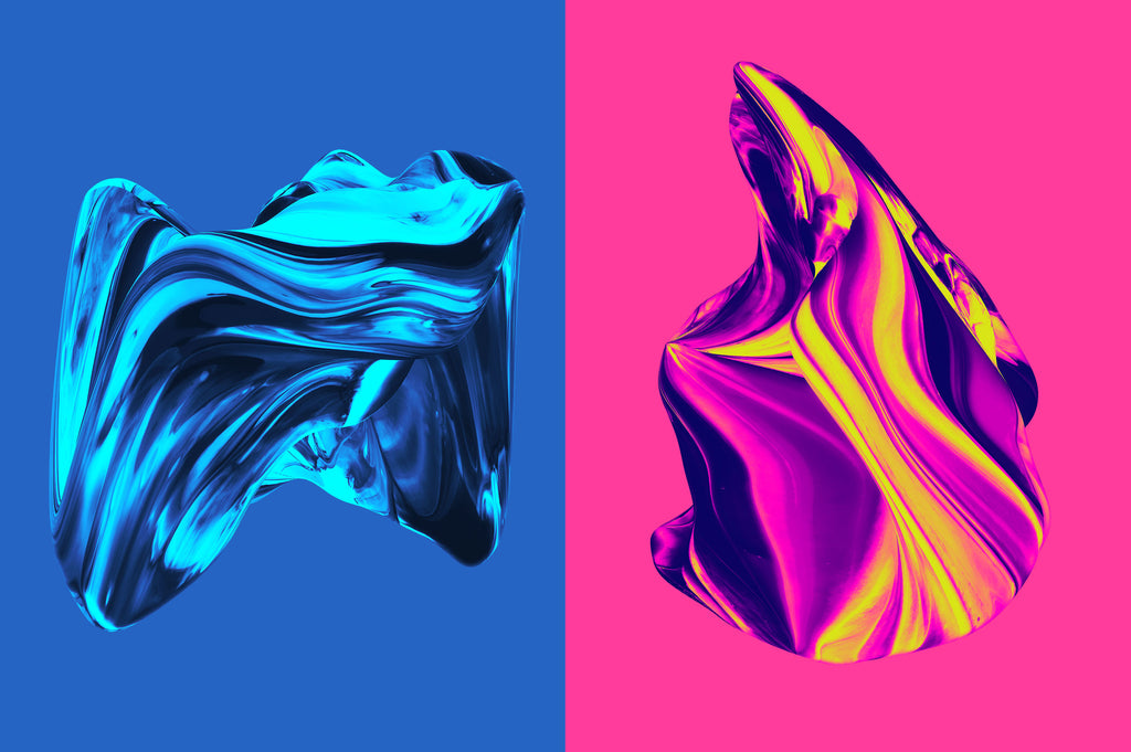 Formed: Isolated Abstract 3D Shapes-Chroma Supply