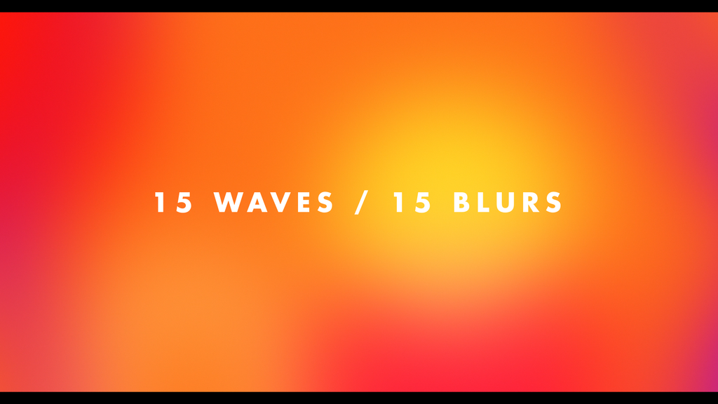 Gradient Wave: Vibrant Animated Video Loops-Chroma Supply