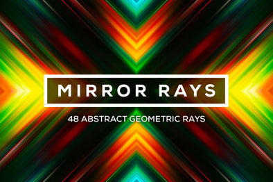 Mirror Rays: Geometric Ray Backgrounds-Chroma Supply