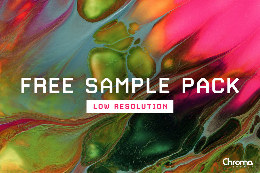 FREE Sample Pack - Low Resolution-Chroma Supply
