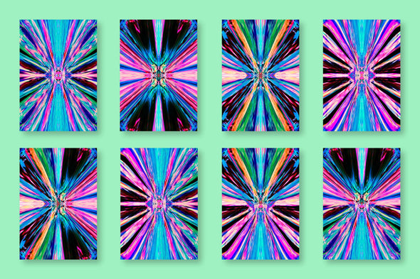 Psychedelic: Trippy Abstract Backgrounds-Chroma Supply