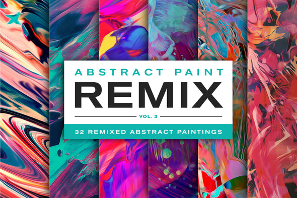 Abstract Paint Remix, Vol. 3