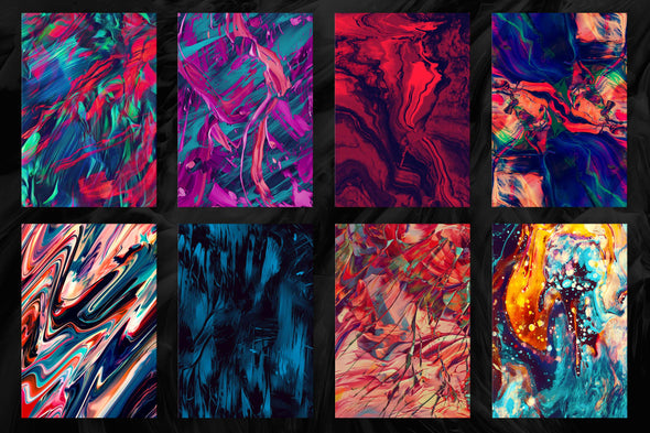 Abstract Paint Remix, Vol. 3-Chroma Supply