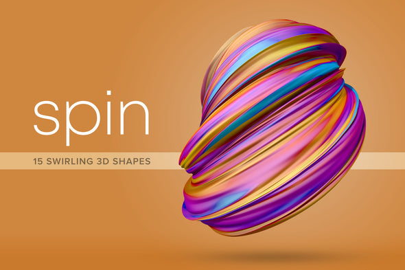 Spin: Dynamic 3D Shapes-Chroma Supply