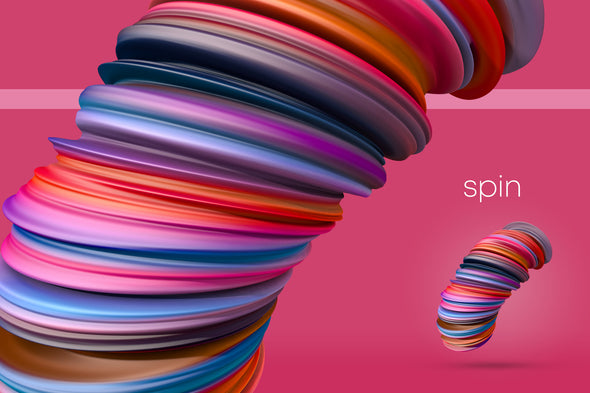Spin: Dynamic 3D Shapes