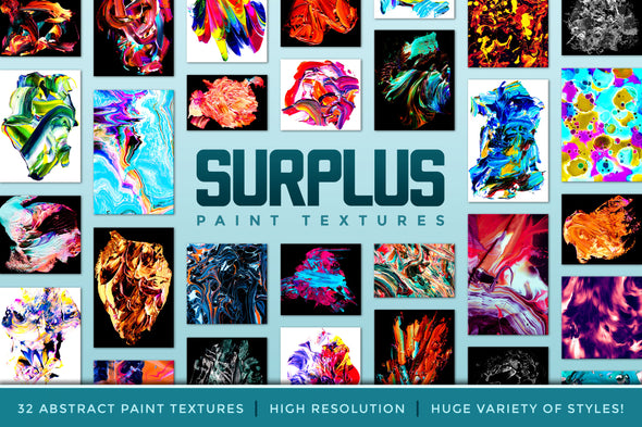 Surplus, Vol. 1: Abstract Paint Textures-Chroma Supply