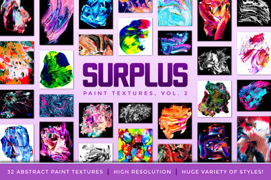 Surplus, Vol. 2: Abstract Paint Textures-Chroma Supply
