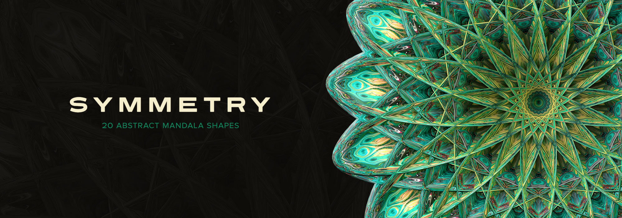 Symmetry: 15 Abstract Mandala Shapes – Chroma Supply