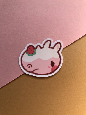 animal crossing villager jumbo sticker - Hey Soosie