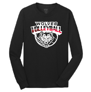 Pearl City Wolves Volleyball Long-Sleeve T-Shirt - Customizable