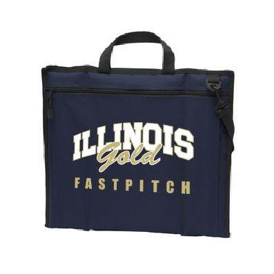 Illinois Gold Fastpitch Stadium Seat - Customizable