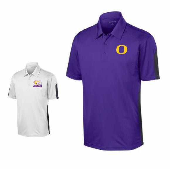 Orangeville Broncos Colorblock Performance Polo