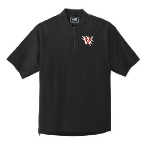 Pearl City Wolves Cage Short Sleeve 1/4-Zip Jacket - Customizable