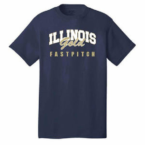 Illinois Gold Fastpitch T-Shirt - Customizable
