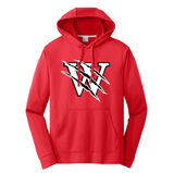 Pearl City Wolves Performance Fleece Pullover Hooded Sweatshirt - Customizable