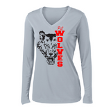 Pearl City PTO Fundraiser Ladies Performance Long-Sleeve T-Shirt - Customizable