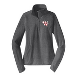 Pearl City Wolves Ladies Performance Stretch 1/2-Zip Pullover - Customizable