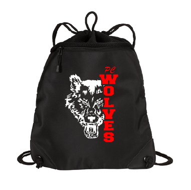 Pearl City PTO Fundraiser Cinch Pack with Pocket - Customizable