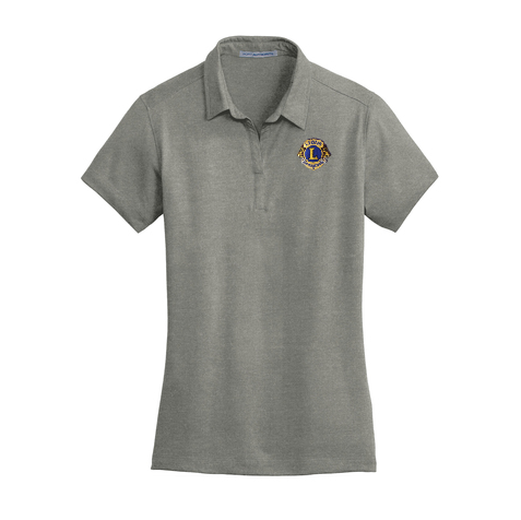 Lions of Illinois Ladies Short-Sleeve Cotton Blend Polo