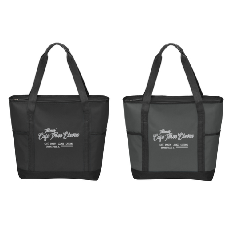 Thomas' Cafe Three Eleven Zip-Top Tote