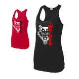 Pearl City PTO Fundraiser Ladies Performance Racerback Tank Top