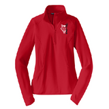 Pearl City PTO Fundraiser Ladies Performance Stretch 1/2-Zip Pullover - Customizable