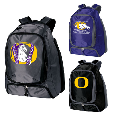 Orangeville Broncos Bat Backpack - Customizable