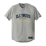 Illinois Gold Fastpitch Full-Button Jersey - Customizable