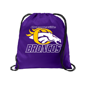 Orangeville Broncos Cinch Pack - Customizable