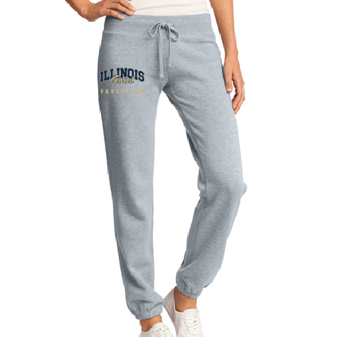 Illinois Gold Fastpitch Ladies Fleece Pant