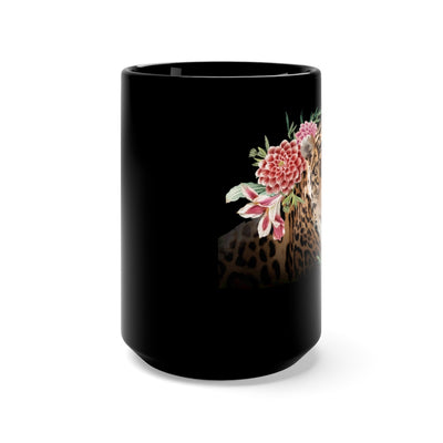 JADE 15 OZ.  BLACK MUG
