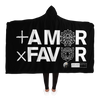 + AMOR x FAVOR - Hooded Blanket *
