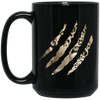 Dharma Claw 15 oz. Black Mug
