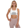 MINIMAL LION -  BLANC EDITION - Padded Sports Bra