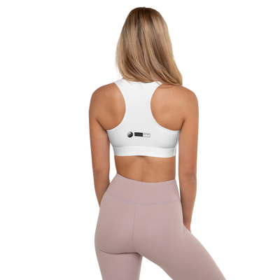 MINIMAL JAGUAR - BLANC EDITION - Padded Sports Bra