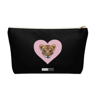 LION CUB PINK HEART ACCESSORY POUCH